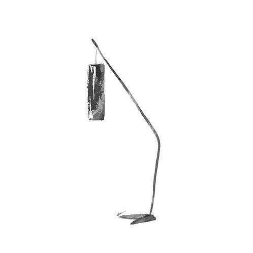 Fishing Pole Floor Lamp Print