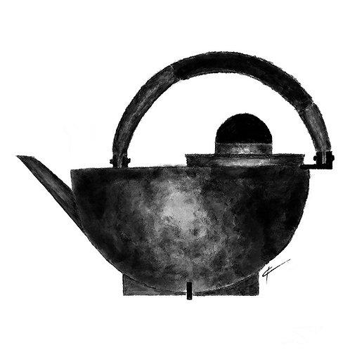 Marianne Brandt Teapot Print