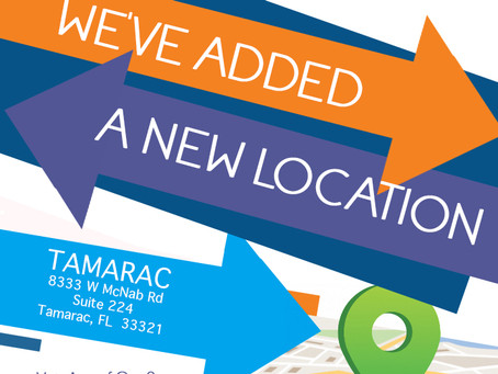 Now Accepting New Patients: Tamarac - Spine and Wellness Centers of America