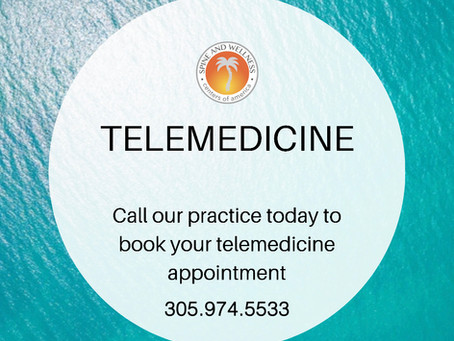 Telemedicine Appointments Available
