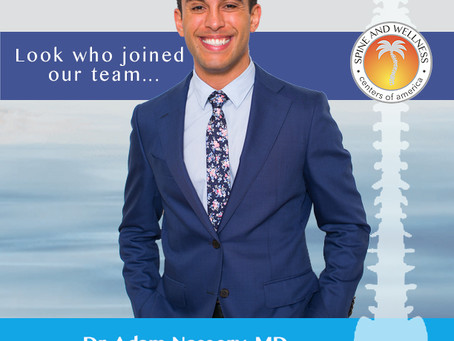 Spine and Wellness Centers of America Welcomes Dr. Adam Nassery, MD
