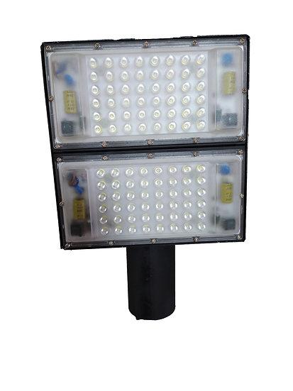 Luminária Publica Led 100w Bivolt Refletor Led Smd Modular