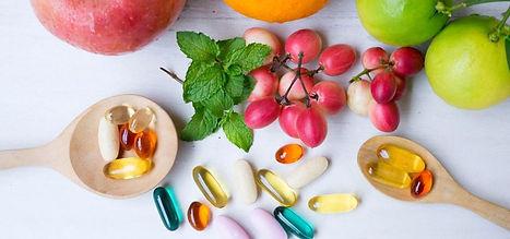 ortomolecular frutas e remédios