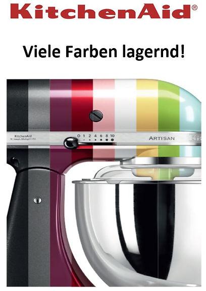 Kitchenaid viele Farben.JPG
