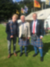 Lorne Maclaine of Lochbuie, Angus Maclaine of Lochbuie The Younger, Cameron Maclaine