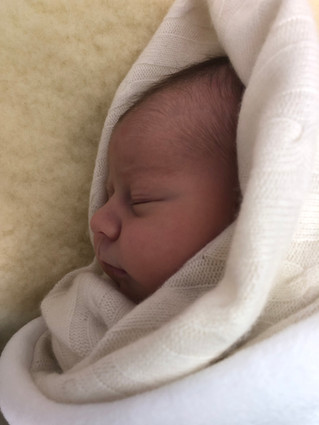 Arabella Rose Maclaine, born 13 September 2019