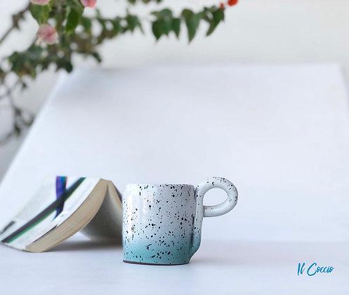 Rho Mug - White/Green