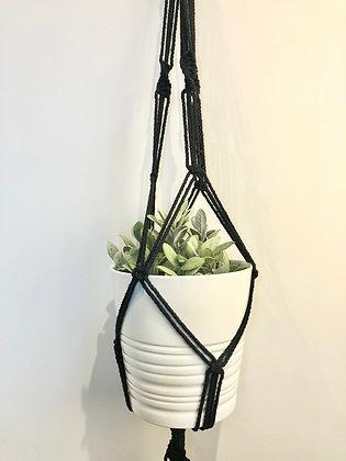 Macrame Spiral Plant Hanger
