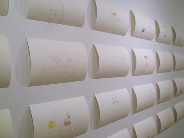 Histoires trouées / Exposition solo à la Galerie du Collège d'Alma (2012)