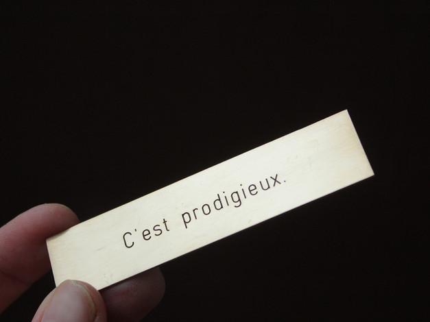 Les phrases Kléber / Manœuvre in situ, Strasbourg, France (2019)