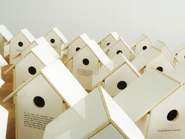 Les confidences / Exposition à AdMare, Îles-de-la-Madeleine, Québec (2011)