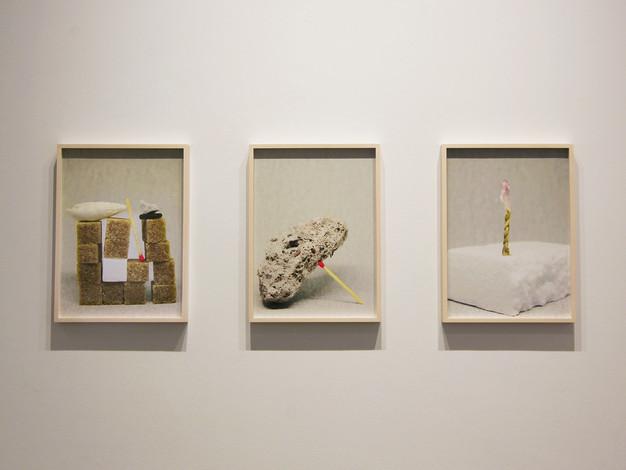 Fragments-Monuments (impressions numériques, encadrements)  Crédit photo : Gabriel Fortin