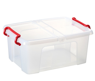 Storage Box, 42L, Clear