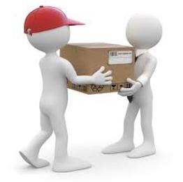 man with van delivering parcel to his client - Man with van Bristol