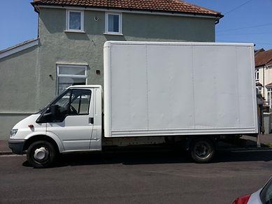 large bristol home removals van