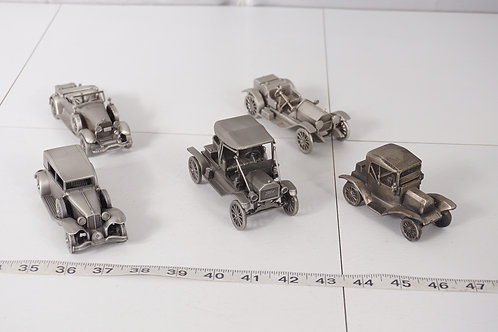 Pewter Model Cars Made In England