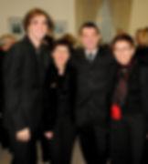 Photo musiciens du concert du choeur Au Joly Bois