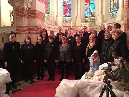 Photo concert du choeur Au Joly Bois