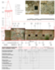 Lettura stratigrafica di S.Giovanni in campagna a Bovolone. Restauro Giampaolo Quirinali architetto Verona