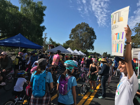 Climate Action Pledges at Niles Canyon Stroll & Roll