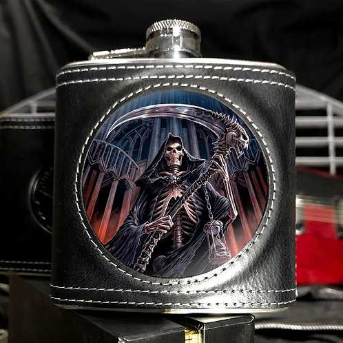Anne Stokes Final Verdict Hip Flask - 3D Lenticular