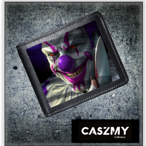 Mischief Clown - 3D Lenticular Wallet