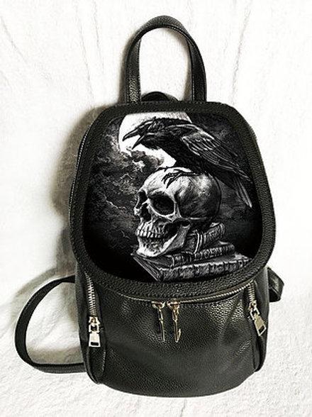 Poe's Raven Backpack - Alchemy 3D Lenticular