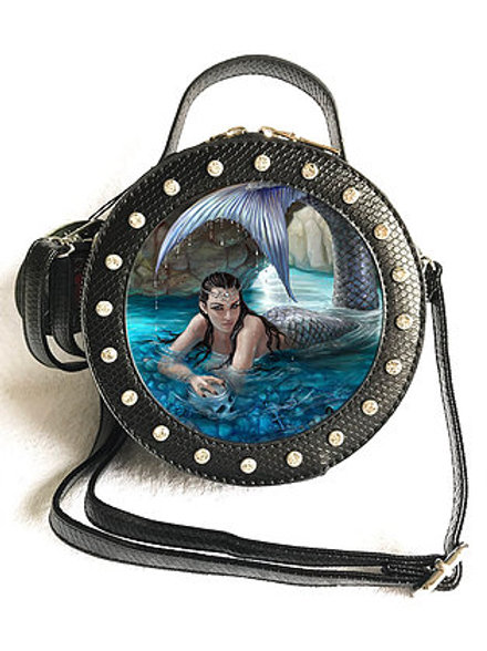 Anne Stokes 'Hidden Depths' Handbag - 3D Lenticular