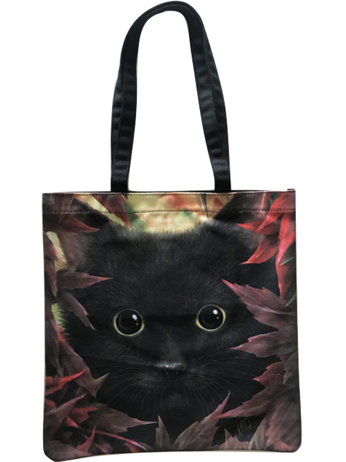 SheBlackDragon 'Autumn Cat' Tote Bag