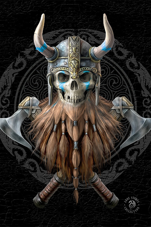 Anne Stokes 'The Viking' Postcard 3D Lenticular