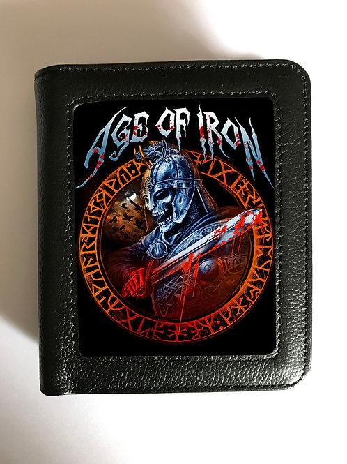 Age Of Iron Wallet - 3D Lenticular