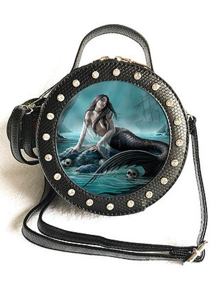 Anne Stokes 'Siren's Lamont' Handbag - 3D Lenticular