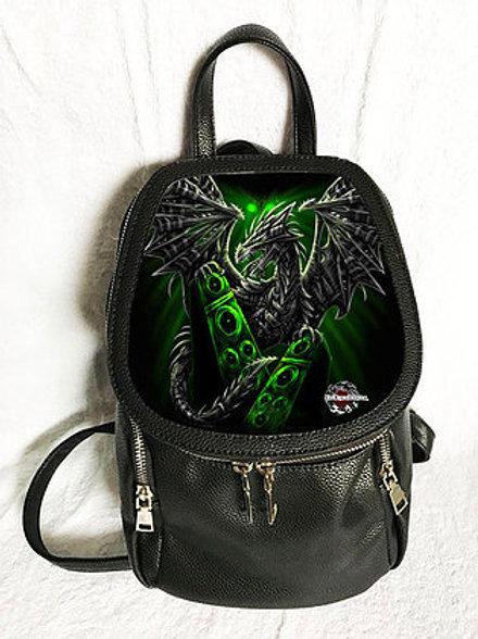 Electric Dragon Backpack - SheBlackDragon 3D Lenticular