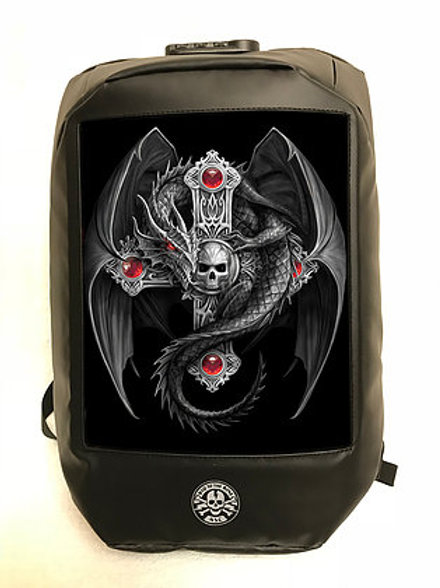 Anne Stokes Gothic Guardian Backpack - 3D Lenticular