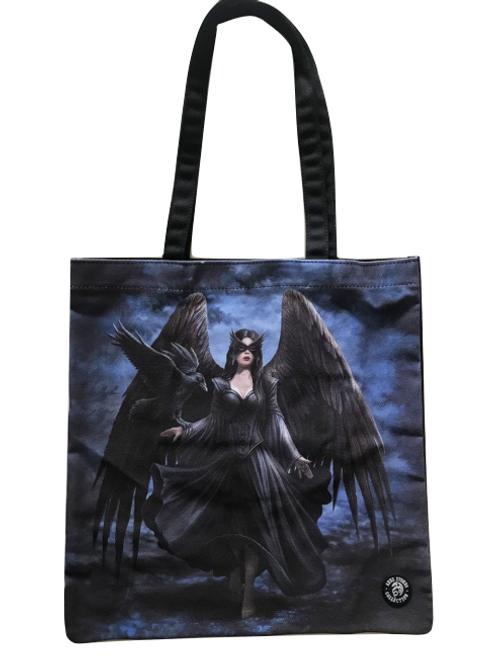 Anne Stokes 'Raven' Tote Bag
