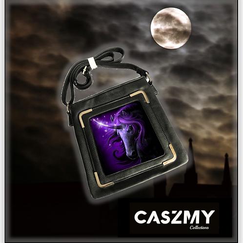 Black Magic Unicorn - 3D Lenticular Side Bag