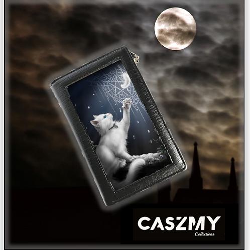 Snow Kitten - 3D Lenticular Purse