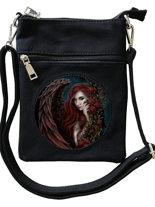 Daemon Le Rosa Cross-Over Bag - SheBlackDragon 3D Lenticular