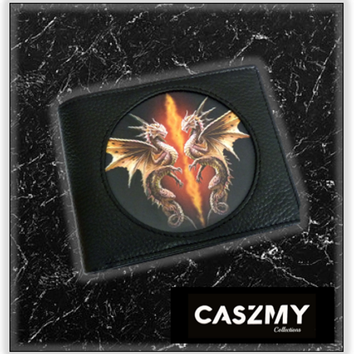 Desert Dragon - 3D Lenticular Wallet