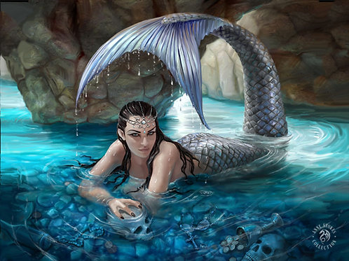 Hidden Depths Postcard - Anne Stokes 3D Lenticular