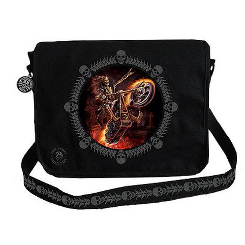 Anne Stokes Hell Rider Messenger Bag - 3D Lenticular