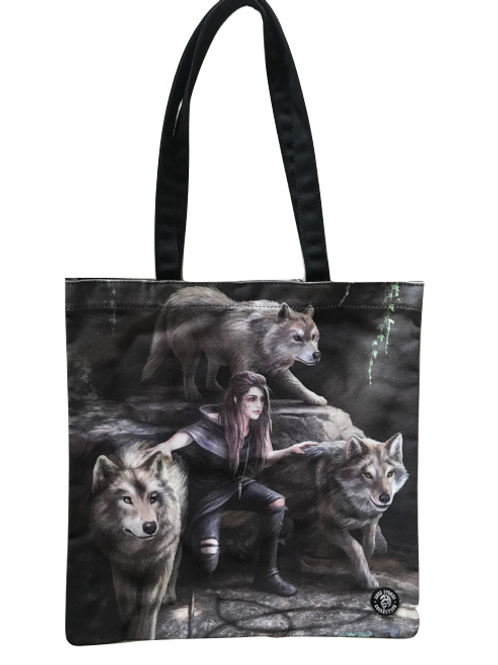 Anne Stokes 'Power Of Three' Tote Bag