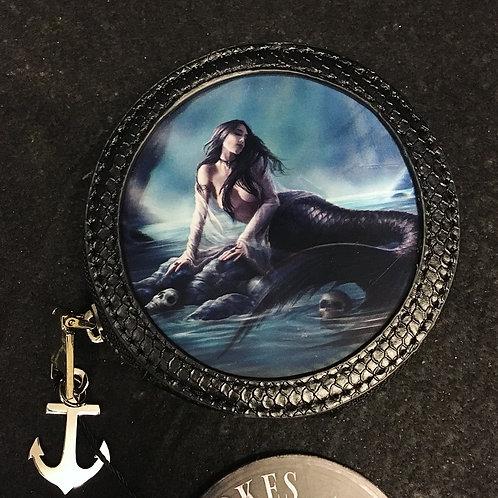 Sirens Lamont Black Coin Purse - 3D Lenticular