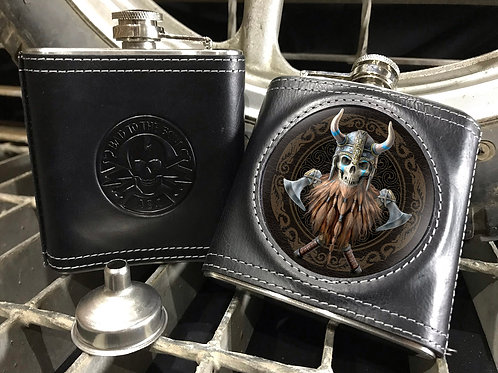 Anne Stokes The Viking Hip Flask - 3D Lenticular