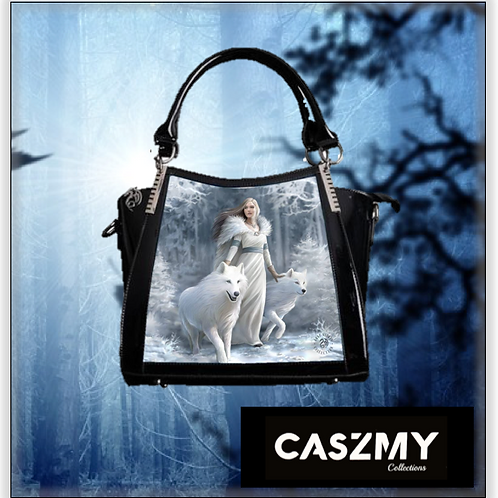 Winter Guardians 3D Lenticular Handbag
