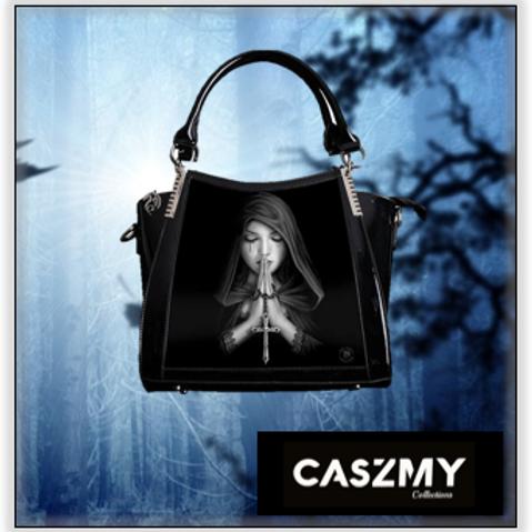 Gothic Prayer 3D Lenticular Handbag