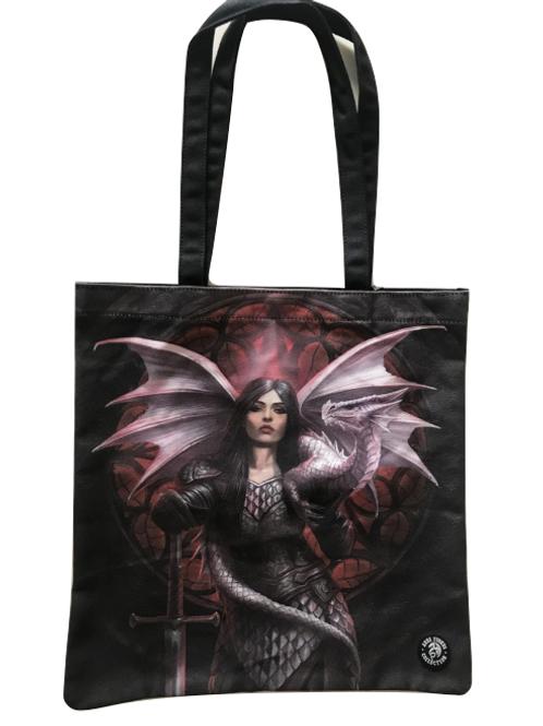Anne Stokes 'Valour' Tote Bag
