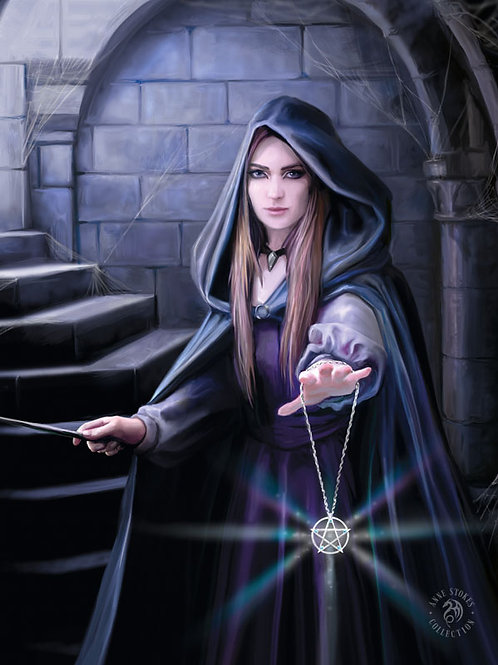 Light In The Darkness Postcard - Anne Stokes 3D Lenticular