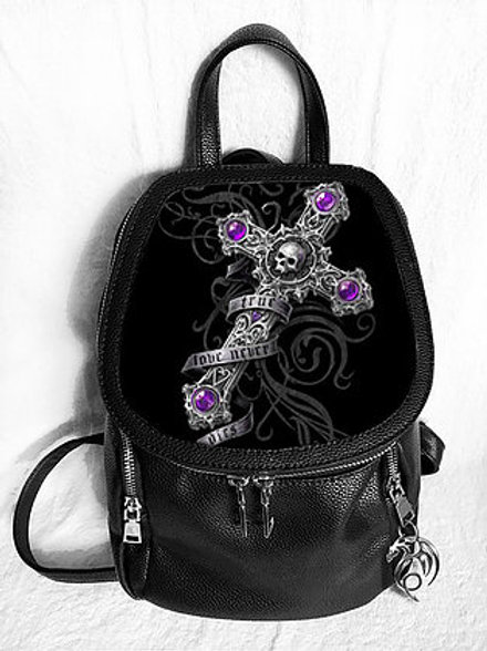 True Love Never Dies Backpack - Anne Stokes 3D Lenticular