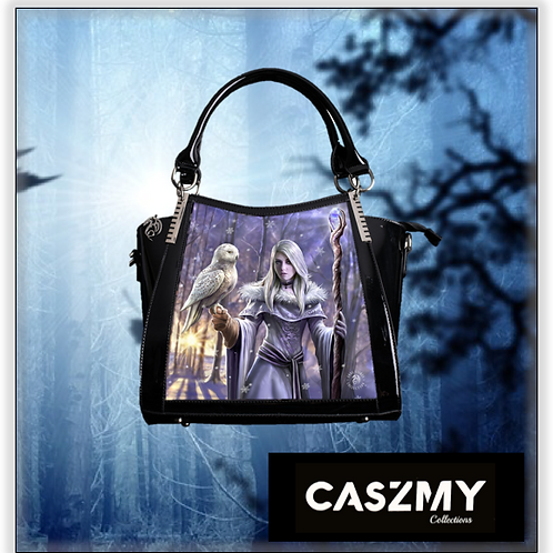 Winter Owl 3D Lenticular Handbag